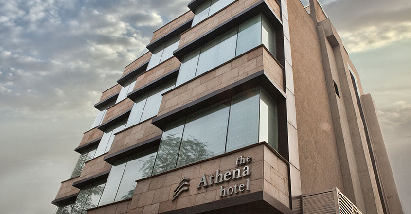 The Athena Hotel Banner